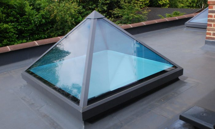 Roof lantern from above